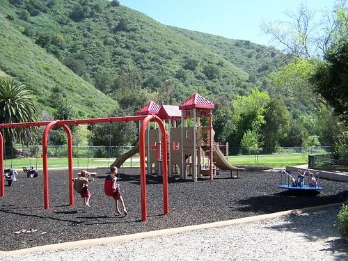 Cuesta Park Swings
