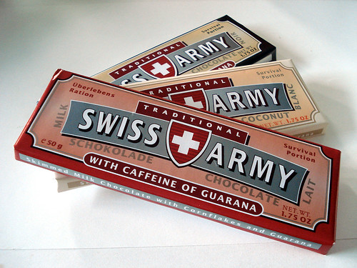 Swiss Army brand chocolates