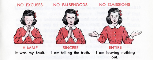 No Excuses - No Falsehoods - No Omissions