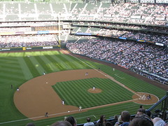 Padres vs Mariners (vleitholf) Tags: seattle mariners safeco