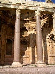 Great Court columns at Baalbek (gordontour) Tags: lebanon archaeology ancient roman unesco worldheritagesite baalbeck liban  heliopolis baalbek