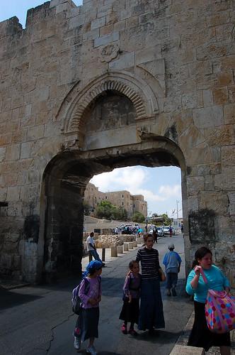 Dung Gate,   יְרוּשָׁלַיִם Jerusalem 耶路撒冷