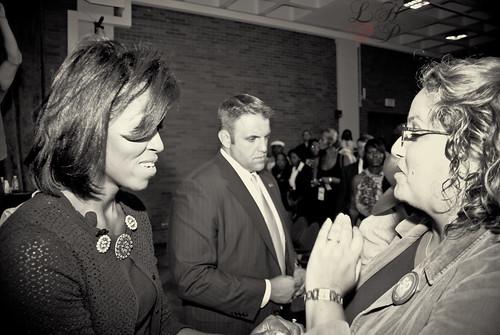 Me & Michelle Obama