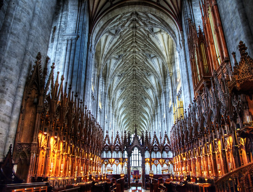 Winchester Cathedral Chancel by you.