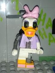 Anamatronic Daisy (Dion-T-?) Tags: anamatronic daisy epic mickey lego legominifigure best game ever custum duck mad doctor wasteland home forgotten disney cartoon characters