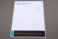 Security Service Letterhead (inkdphotos) Tags: camera blue brown alarm home video surveillance guard security system safety secure safe protection letterhead safeguard