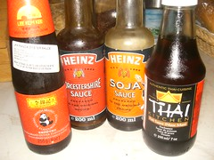 bottled asian sauces
