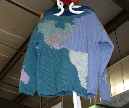 Map sweater
