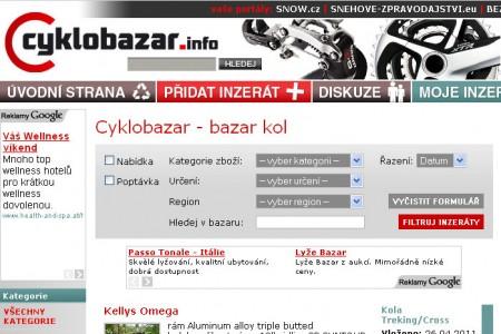 Nový bazar kol