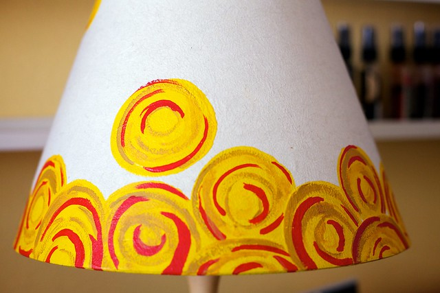 My Hand-painted Lamp