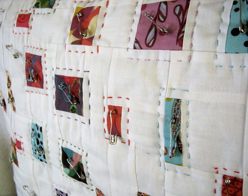 Confetti hand quilting