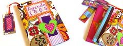 [ Ag04] ( Atelier Encantado ) Tags: vintage calendar oldphotos fabrics tecidos fitas fotosantigas diarys gales agendas atelierencantado