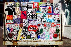 i was somewhere else (Question Josh? - SB/DSK) Tags: nyc streetart cat hope mono sticker dinosaur stickers obey josh resistor tiki sr rwk jk robotswillkill hargo elna titiki morg uwp subhumanoid ticky catv caspa peelhere dbk toyeater nastyguy expt underwaterpirates questionjosh lordleigh samchoi bytedust 14bolt orticanoodles sparkysuperfly riot68 snub23 kandycore melvind jshine billikidbrand colante drypnz trashisfesch stickathing crevicecreeps fixxa ten13one xny bazookabill sketch3030 rrrraybs roygbl lazynachos discoshit bubbaboomsticks guar2007 theorypropaganda elbokom boneminus wheelerlifton thegcfour 88proof xnhungx biafrainc artoor2 azionevsbooty fokusedempire178 abuze420 theslobtastikone mdfcbcaf orphinator