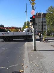 Kreuzung Ostseestrasse Ecke Greifswalder Strasse in Berlin