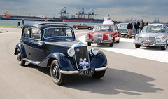 Mercedes Meeting: 1951 Mercedes-Benz 170 VA (Michiel2005) Tags: auto car mercedes victoria mercedesbenz 170 1car w136 mcar najaarsevenement