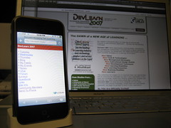 DevLearn.mobi - Mobile Learning Experiment