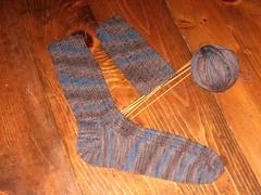 Lorna's laces ribbed sock.JPG
