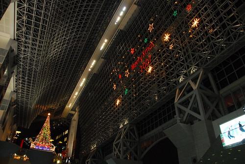 京都車站 - 天井