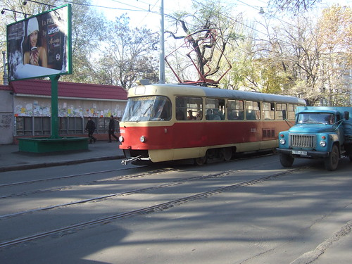 Tramway in Odessa