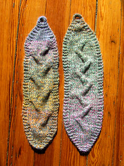 cabled earwarmers (staceyjoy) Tags: brooklyn warm cables redlipstick knitted earwarmers