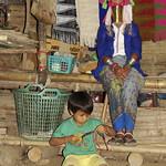 A Karen longneck woman (Thailand)