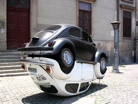 VW Yin Yang Sculpture: