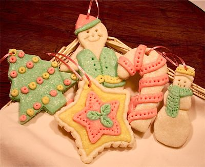 How to Make Salt Dough Cookie Ornaments