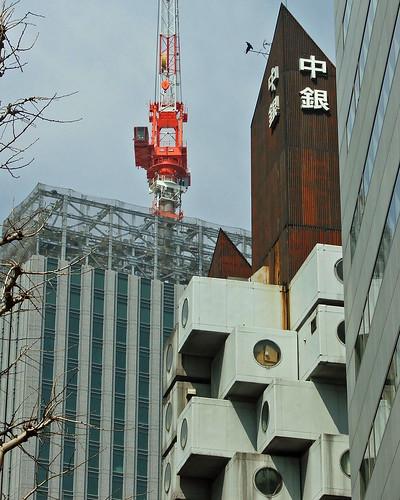 中銀カプセルタワー,