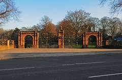 Ormeau Park entrance