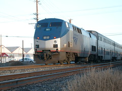 Amtrak Capitol Corridor (sharkzan) Tags: trains amtrak santaclara commuter passenger ge locomotives railroads capitolcorridor railfanning p42dc amtk185 martinave