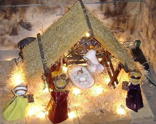 Різдвяна композиція вдома