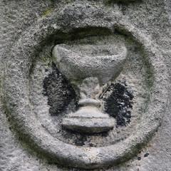 Ouroboros (Uroborus) and chalice (Leo Reynolds) Tags: squaredcircle churchyard chalice snake serpent ouroboros uroborus canon eos 40d 0022sec f8 iso400 120mm 0ev cemeterysymbol groupcemeterysymbolism sqrandom sqset026 xleol30x hpexif xratio1x1x xsquarex xx2008xx sqset