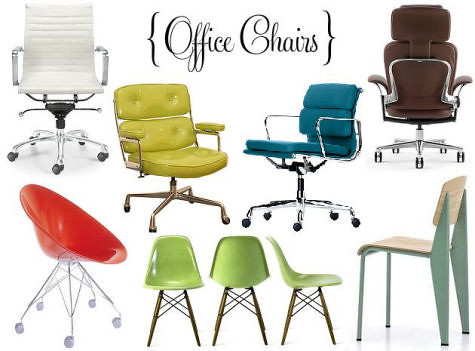 desk chair roundup | Design