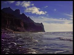 mi paraiso (fx7photo) Tags: mar photo canarias nubes gran canaria playas fx7 atlantico