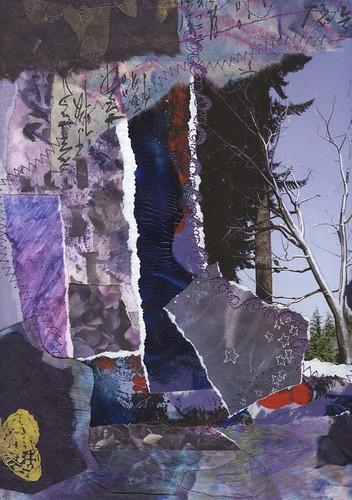 Purple Paper Quilt