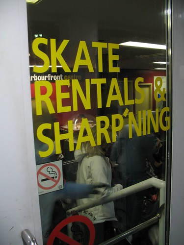 "When There Isn't Enough Room to Fit ""Sharpening"" on the Door..."