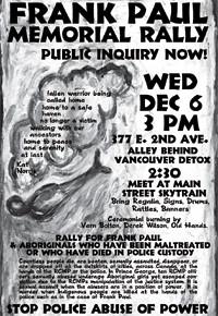 An APC poster demanding an inquiry.