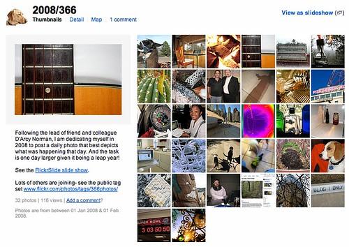 January Crop of 366 photos