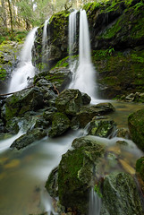 Cataract Falls (Aaron Siladi) Tags: california winter green water waterfall rocks marin falls mttam tamalpais mossy cataract sigma1020mm