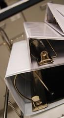 Office: binders.  Photo by sidewalk flying.