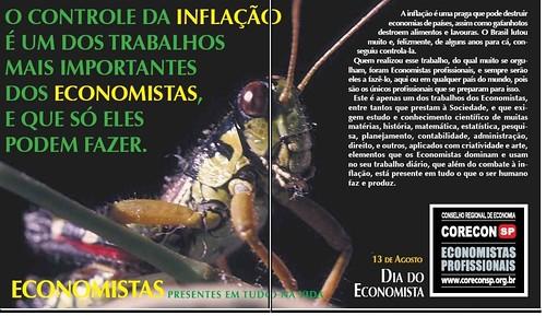 gafanhoto - Campanha - economistas