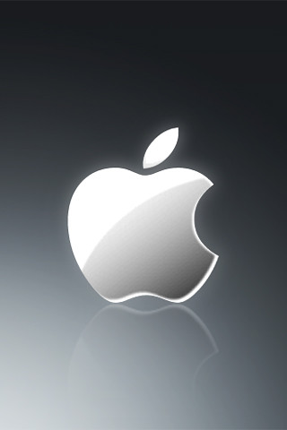 An Apple desktop that I made in Photoshop formatted for the iPhone/iPod