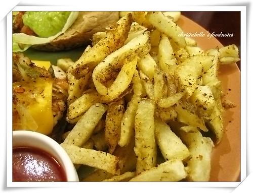 佛客forkers漢堡之紐奧良薯條