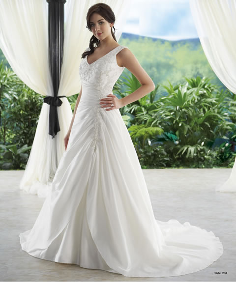 Vestidos de novia baratos-961A