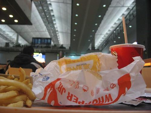 First dinner in Hong Kong