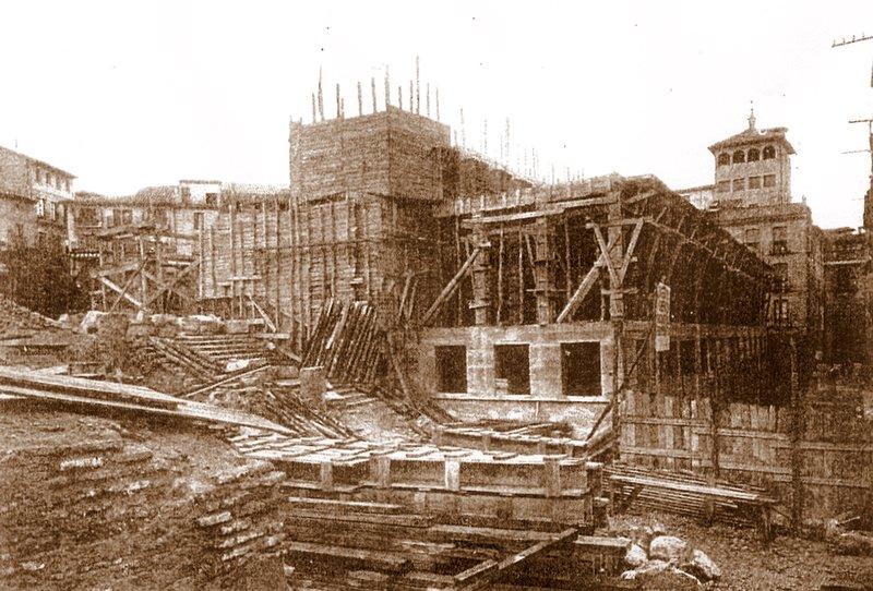 Restauración de Zocodover tras la Guerra Civil