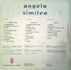 Angela Similea - Un Albastru Infinit, Traiesc, Nufarul Alb B
