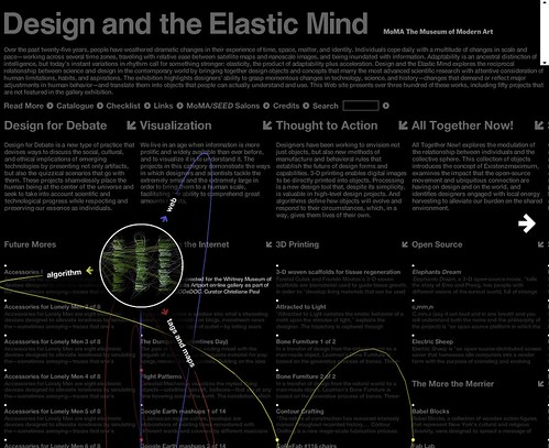 MoMA: Design and the Elastic Mind / 2008-03-25 / SML Screenshots (by See-ming Lee 李思明 SML)