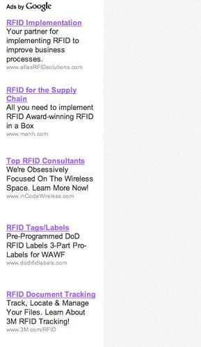 RFID Ads