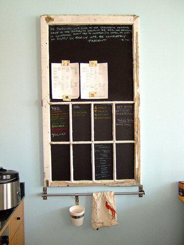 chalkboard idea by erinowes.